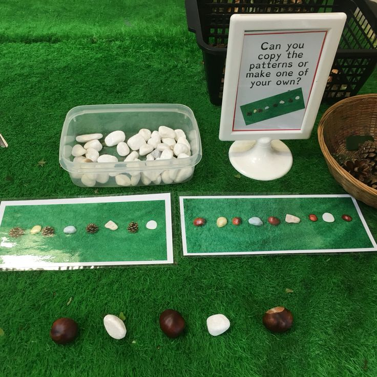 Early years repeating patterns in the continuous provision