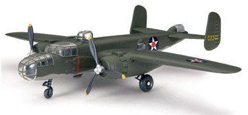 1/72 B-25 Olive Drab by Testor Corp.. $16.79. Kit features snap construction and color molded parts to eliminate needing paint or glue.. Testor?s new pre-painted; snap and screw together kits are perfect for starting young modelers. All of the advanced work, such as painting and detailing is done, leaving a non-intimidating model for the first timer. Made of tuff plastic, the kit once finished becomes a model with play value. Screwdriver included, nothing else to...