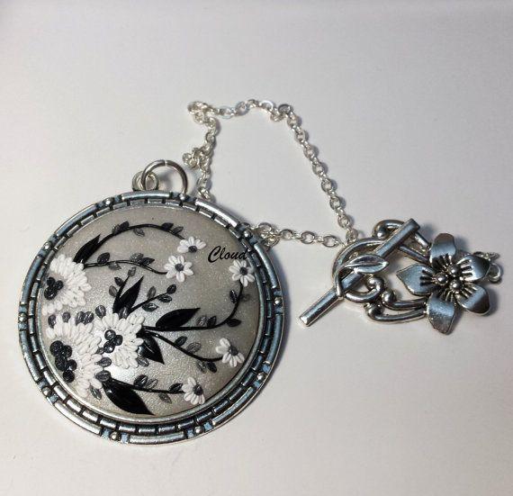 Ciondolo argento CloudJewelry sfondo bianco di ClaudiaNicolazzo