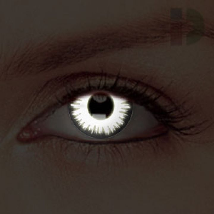 iD Lenses Lunar Glow In The Dark Contacts