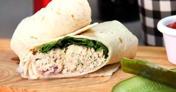 Chicken Caesar Wraps Will Fill You Up For Lunch or Dinner!