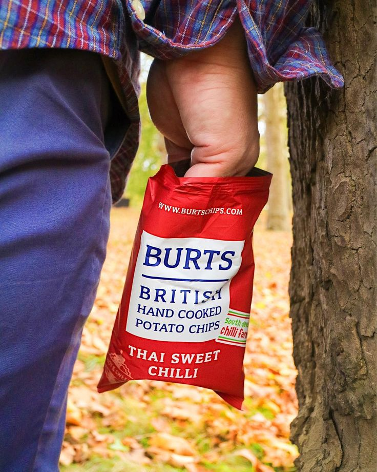 these Thai Sweet Chilli Crisps from @burtschips. Taking advantage of this autumn weather to go adventuring through the autumn  leaves.  I dont know whats crunching louder the leaves or me munching on these crisps. These are thick cut crisps done right all hand fried in small batches in Devon. . . #ad #burtschips #devon #smallbatch #sweetchilli #thaisweetchilli #autumn # #dadventures