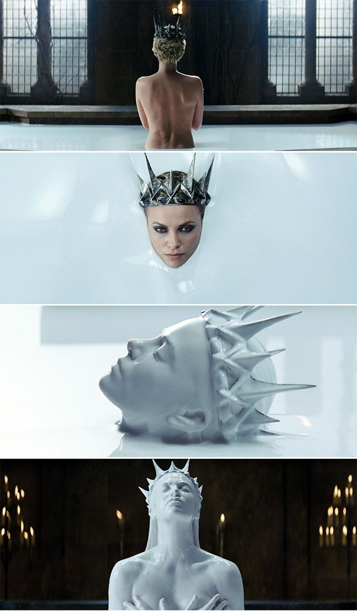Snow White and the Huntsman  I have got to find out what the liquid is!?? Is it healing milk or something I need to know!!