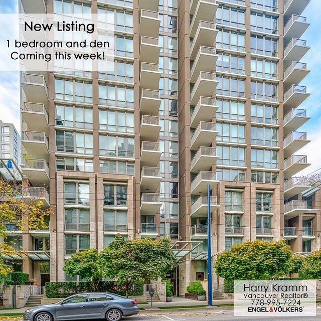 Watch out for a new listing coming this week - A large 1 bedroom and den in a very sought after building in Yaletown. Contact Harry for more details! . . #socialrealtor #socialmedia #yvrre #realtor in #yaletown #vancity #vancouverrealestate #theevlist #engelvoelkers #evvancouver #wp #linkedin #igersvancouver #instahub #instagood #love this #space #getoutside #VanRE #engelvolkers