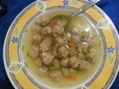Masové knedlíčky do polévky