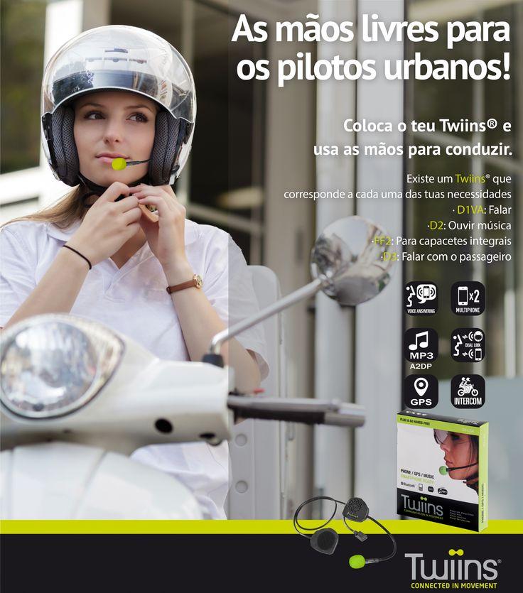 Existe um Twiins para cada um de nós! Confirme hoje mesmo com a Lusomotos.  #lusomotos #twiins #estilodevida #andardemoto #mãoslivres