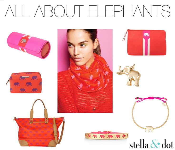 All About Elephants: Strength comes from within. Stella & Dot