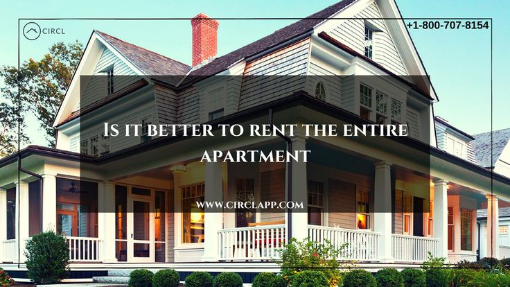 Single room for renting or leasing an entire apartment. what are the options available to the owners to get into the roommate?  If this method of renting is often an attractive option for landlords, here are case by case tips for renting your property in the best conditions. https://www.circlapp.com/list-property-landlord