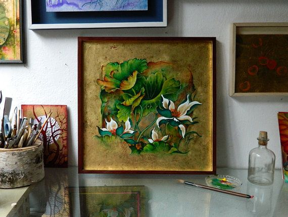 """""""Talks About the Essence of Life"""" - in my studio"""