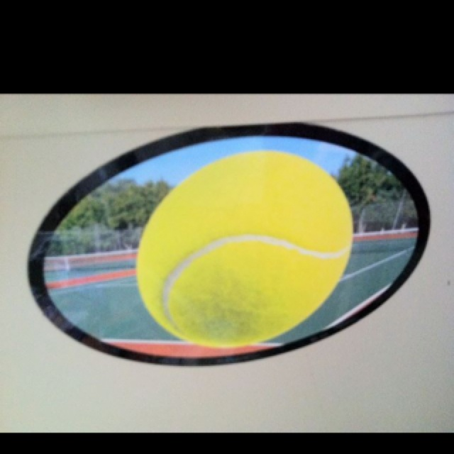 Tennis Magnet for your Vehicle  
