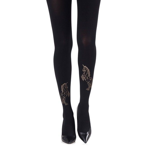 Magic Dance Gold Tights via Polyvore featuring intimates, hosiery, tights, gold stockings, gold pantyhose and gold tights