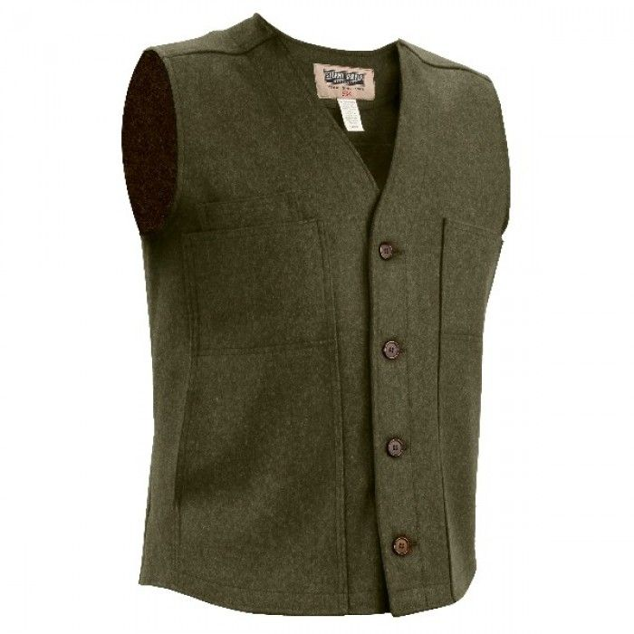 Stormy Kromer Men's Button Vest - Men - Apparel | Made in USA | Guaranteed For Life | Duluth Pack