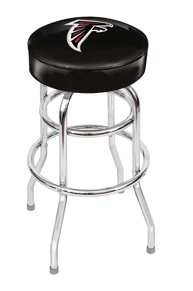 Atlanta Falcons Backless Swivel Sports Bar Stool 🎶Follow FOSTERGINGER@ PINTEREST for more pins like this. 🎶NO PIN LIMITS. 🎶Thanks to my 22,000 Followers.🎶 Follow me on INSTAGRAM @ ART_TEXAS 🎶