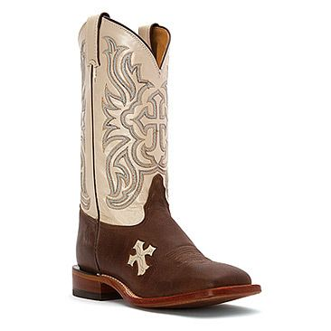 Tony Lama Women's Tan Tuscan Goat San Saba Cream Tops Cowgirl Boots - HeadWest Outfitters