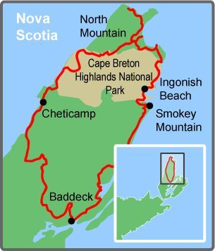 17 best ideas about Cabot Trail Map on Pinterest   Cabot trail ...