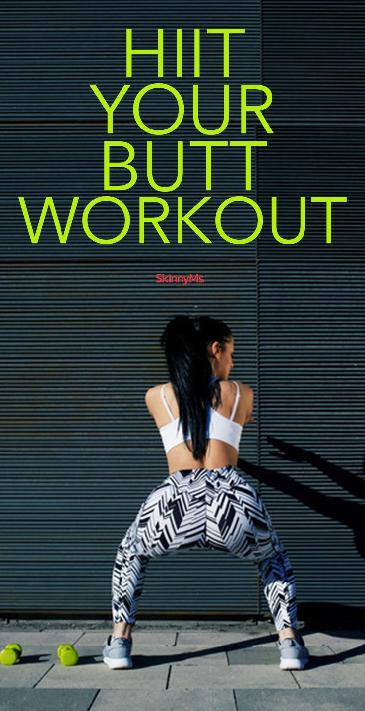 HIIT Your Butt Workout - It's just 10-20 minutes per day, and your booty will look better than ever!