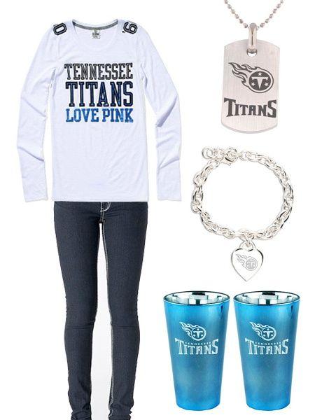 Tennessee Titans Football Fashion