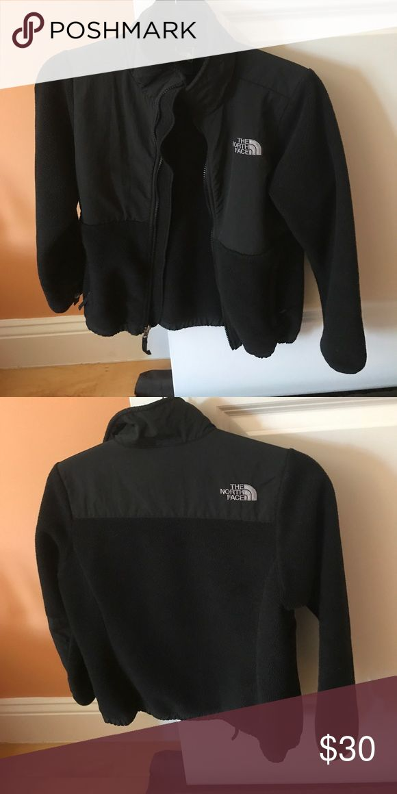 North face fleece. Black GIRLS north face jacket. Used. The North Face Jackets & Coats