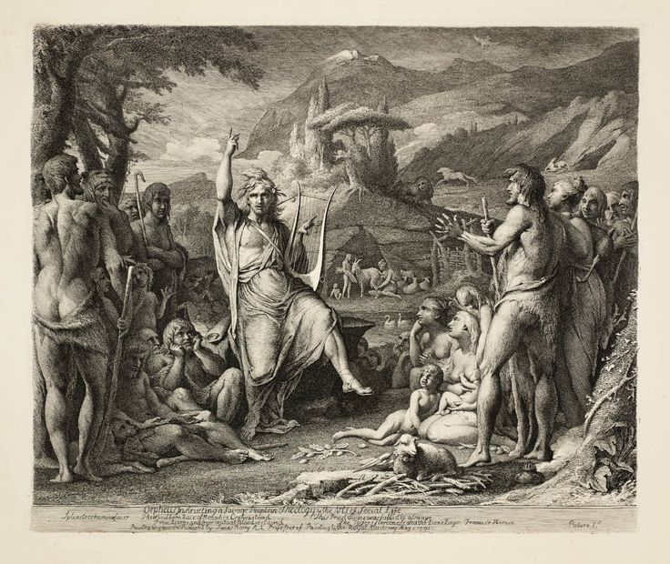 James Barry 'Orpheus', first published 1792