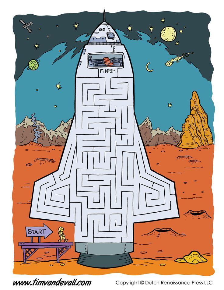 printable-space-maze.jpg (927×1200)