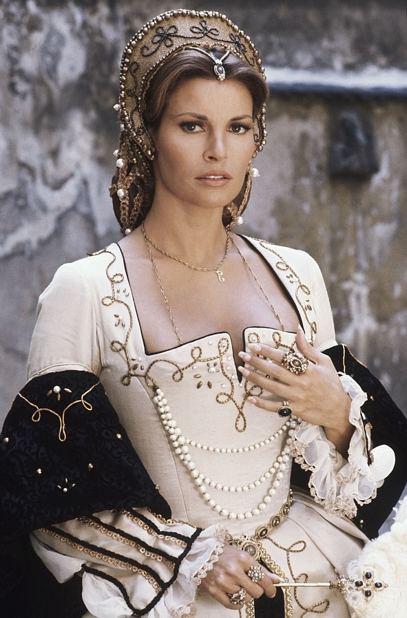 32nd Golden Globes - Best Actress in Musical or Comedy: Raquel Welch – The Three Musketeers. Costumes by Yvonne Blake.