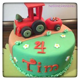 helllilablassblau: Mein kleiner roter Traktor ... lala lala lalala
