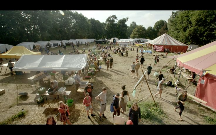 Tomorrow's Power on location in the Rheinland, Germany (2015).  Climate camp.