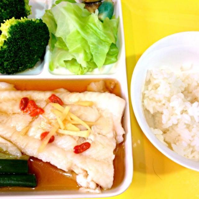 ダイエット中のヘルシー料理♪ - 4件のもぐもぐ - 白身魚の中華蒸し♪ by HITOMI6677