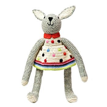 88 best easter gifts images on pinterest easter gift bunnies this anne claire petit crochet bunny toy from born gifted wears a pretty dress with colourful spots and stripes a cute and stylish easter gift idea negle Choice Image