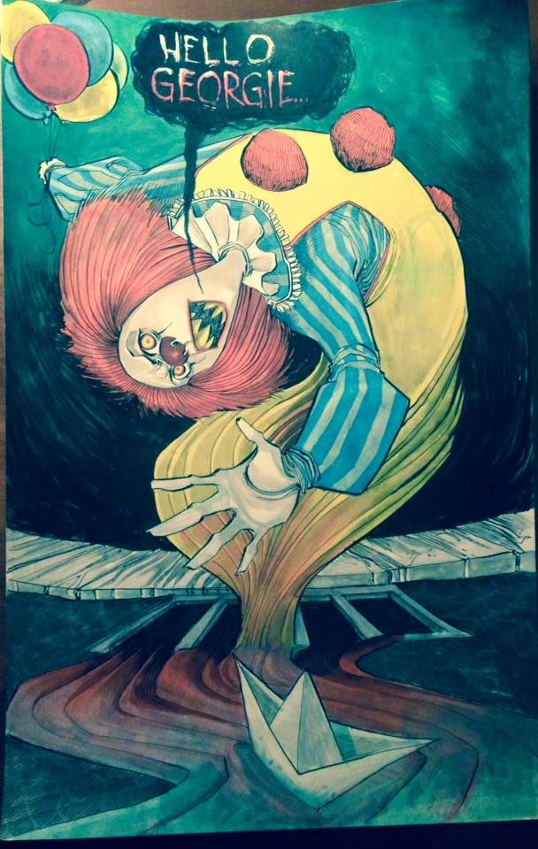 Pennywise the Clown by JeremyTreece on DeviantArt