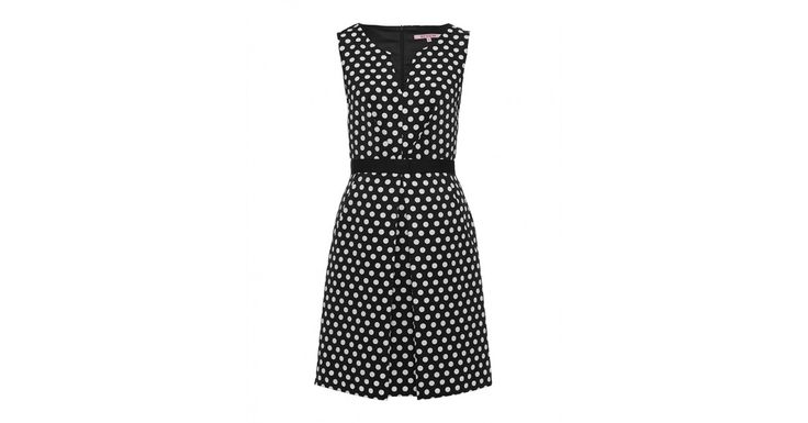 This dress is all kinds of cute! Review Australia | Jessandra Dress Black/white