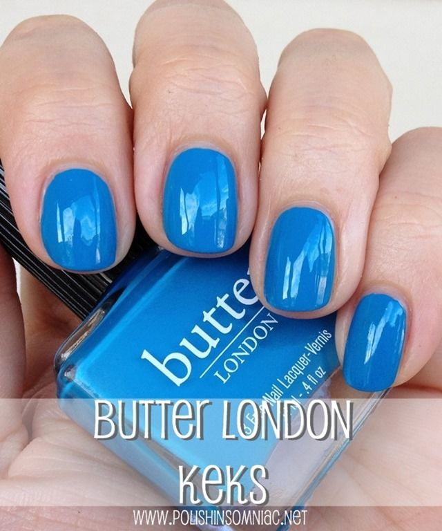 butter LONDON Keks ♥ Swatches and Review