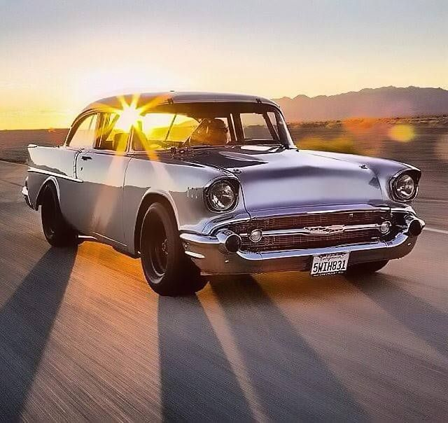'57 Chevy…Rolling Thunder going down memory lane