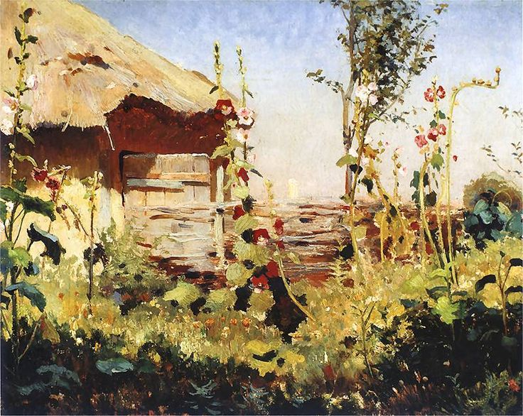 Jan Stanislawski - 1900   Malwy_w_sloncu.jpg 800×637 pixels