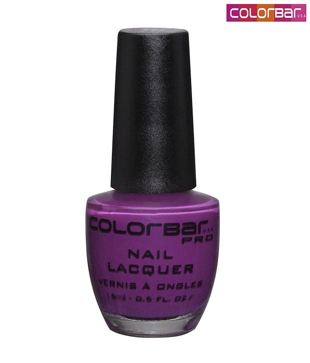 Go Purple with this Colorbar!    http://www.snapdeal.com/product/colorbar-nail-enamel-eggplant-034/148864?pos=61;1538?utm_source=Fbpost_campaign=Delhi_content=13878_medium=010812_term=Prod