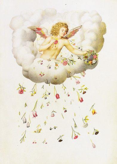 Charles de Montausier, La Guirlande de Julie - Zéphyr et les fleurs, par Nicolas Robert