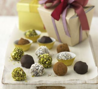 Gin and Tonic truffles