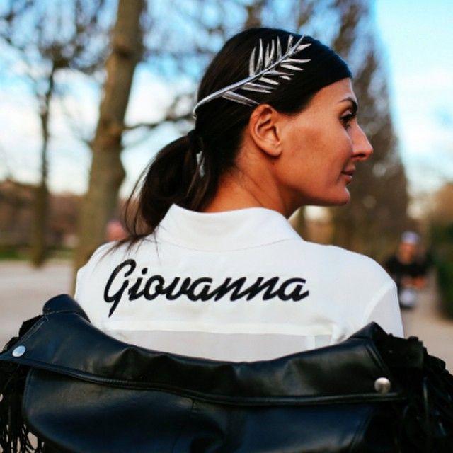 cool much?! Gio in Paris. #GiovannaBattaglia