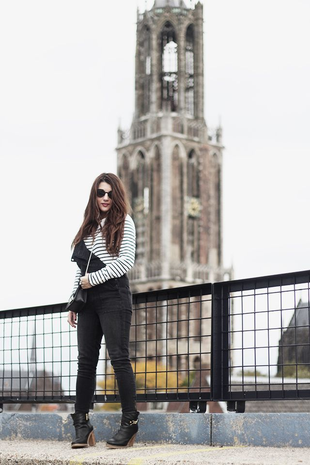 Outfit | Denim Dungarees