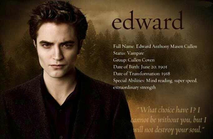 #TwilightSaga #NewMoon - Edward Cullen