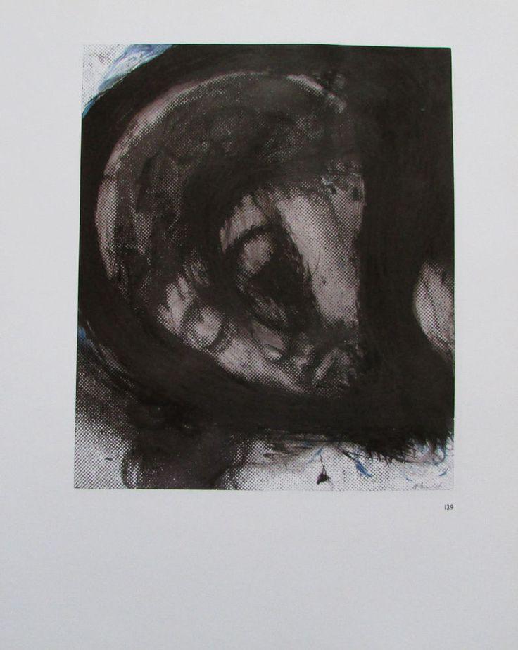 Arnulf Rainer DAS HAUPT CHRISTI Übermalung 2 Kunstdrucke Religion art prints | eBay