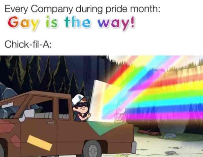 26 Funny Pride Memes About Corporations Celebrating Pride The Funny Beaver In 2021 Bee Movie Memes Funny Memes Memes