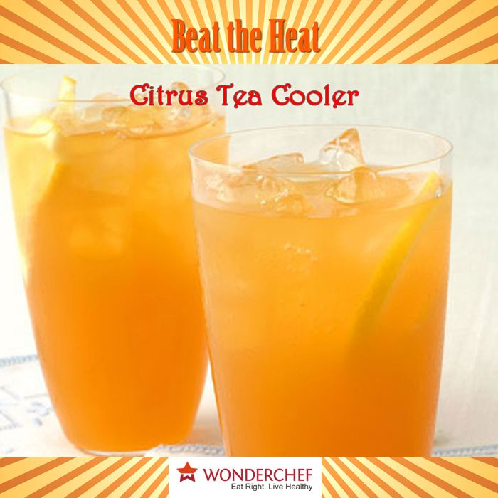 11 best beat the heat this summer images on pinterest drink enjoy this summer with refreshing citrus tea cooler by chef sanjeev kapoor and beat the heat forumfinder Images