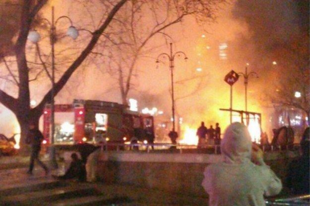This is the third major explosion in Ankara since October.