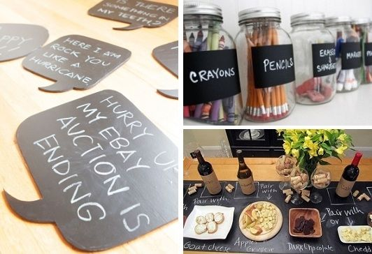 Awesome Chalkboard Contact Paper DIY Ideas