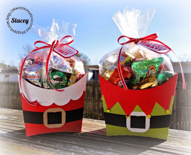 Stacey's Creative Corner: Santa & Elf Fry Boxes