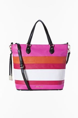 TWIN-SET Simona Barbieri :: PE16 :: Borse :: Twin-set Borsa Righe :: AS67EN