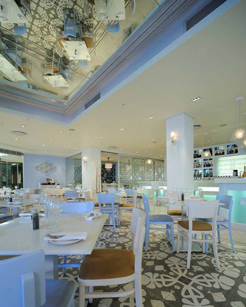 Luxury Family Restaurant Interior