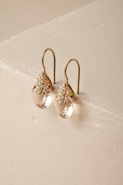 10 Most Beautiful Drop Earrings From Bhldn Bridal Bride Dropearrings Jewelry