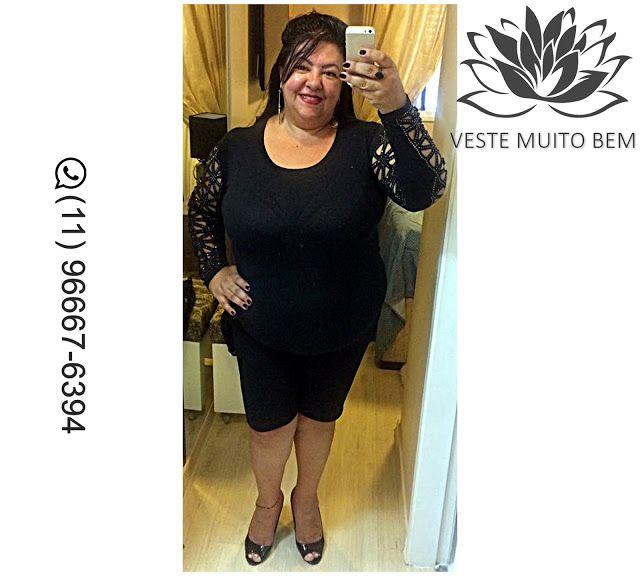 Camiseta de Malha com corte Laser e Enfeites Bordados na manga R$ 7500 (somente loja física) #vestemuitobem #moda #modafeminina #modaparameninas #estilo #roupas #lookdodia #roupasfemininas #tendência #beleza #bonita #gata #linda #elegant #elegance #jardimavelino